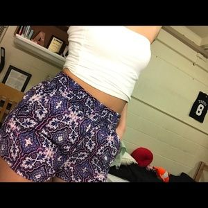 Pants - Sexy flowy printed summer shorts